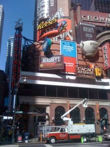 The Times Square Hershey's Store
